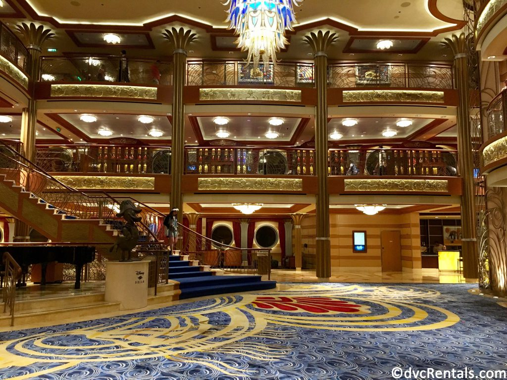 lobby of the Disney Dream