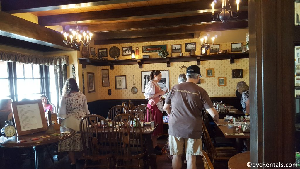 Tea Room inside the Rose and Crown