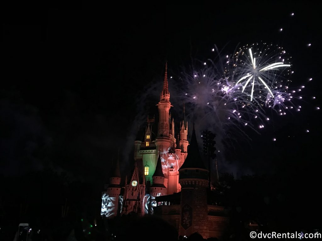 HalloWishes Fireworks at Magic Kingdom