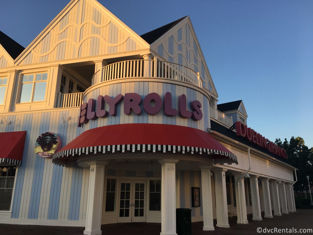 exterior shot of the entrance to Jellyrolls