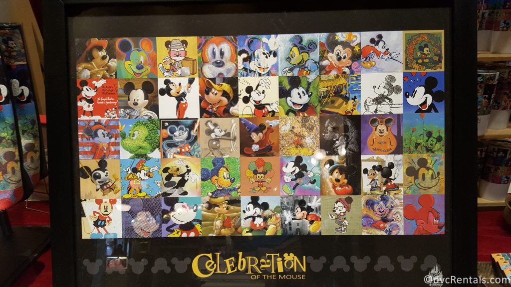 Celebrate the Magic Mickey Mouse Poster