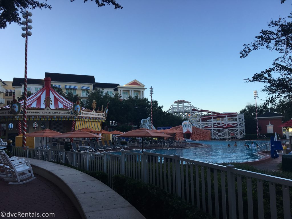 feature pool at Disney's Boardwalk Villas