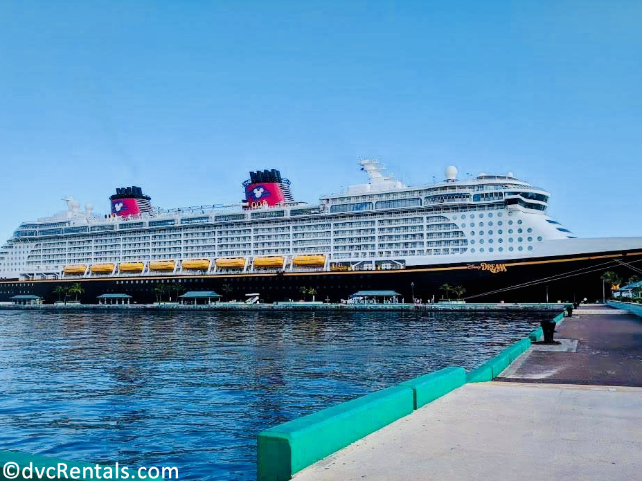 exterior picture of the Disney Dream