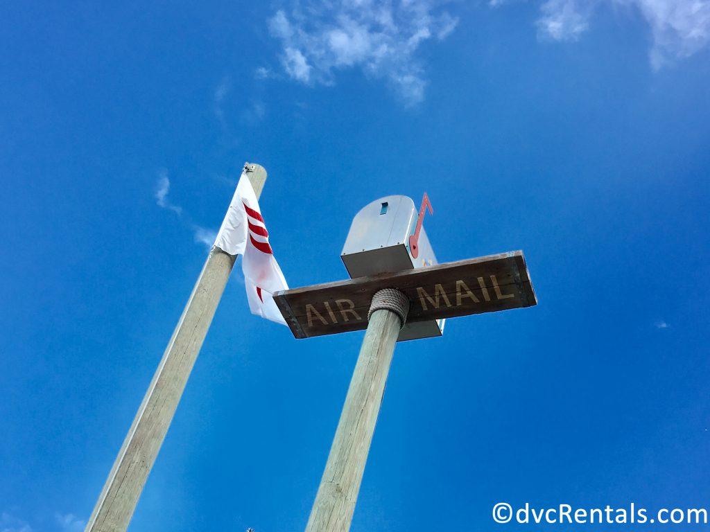 """""""Air Mail"""" at Castaway Cay"""