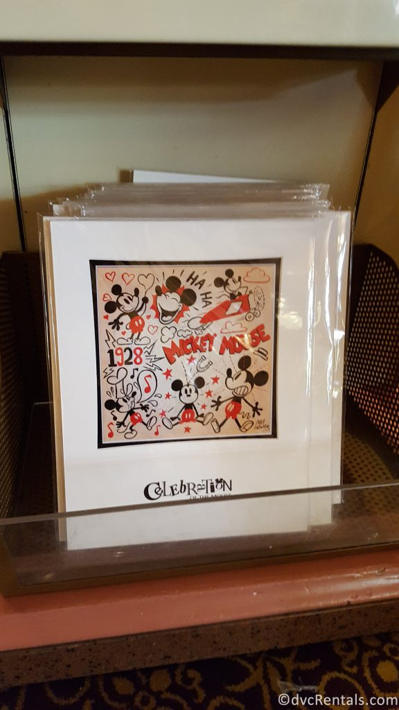 Celebrate the Mouse artwork from Magic Kingdom