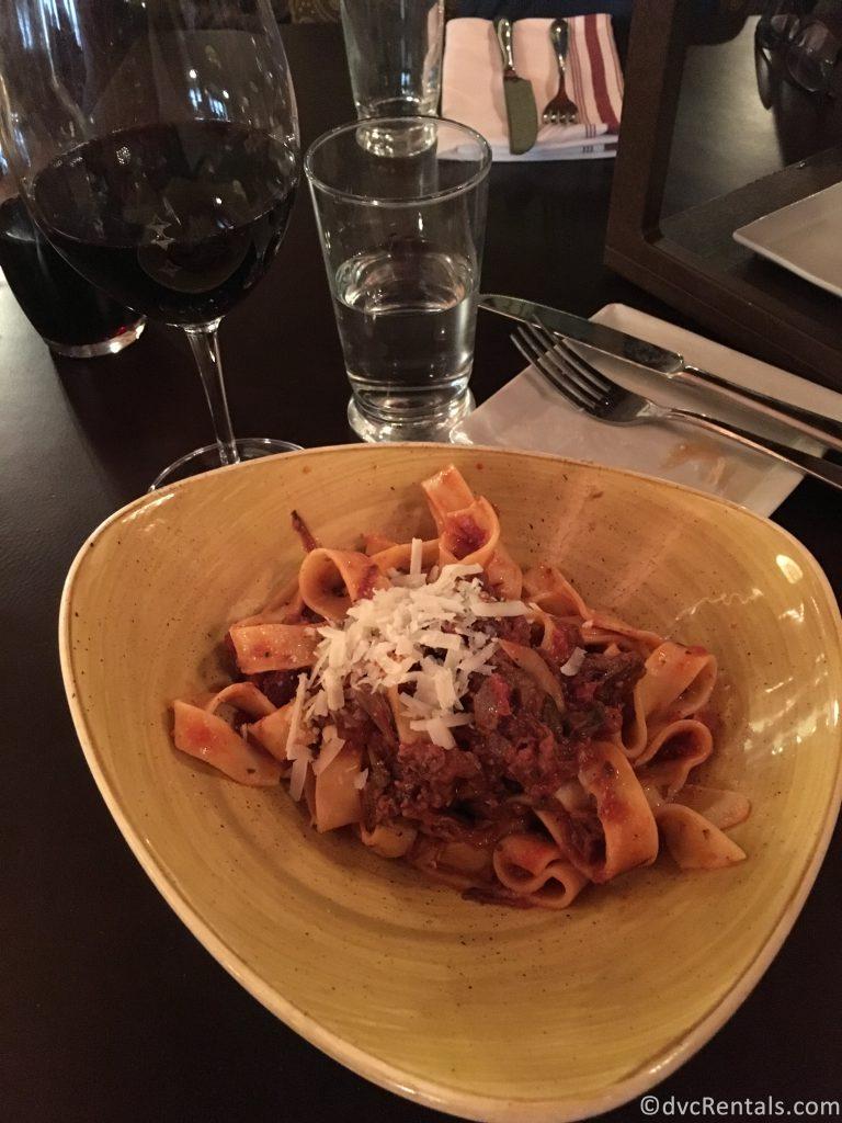 Pasta alla Bolognese from Trattoria al Forno