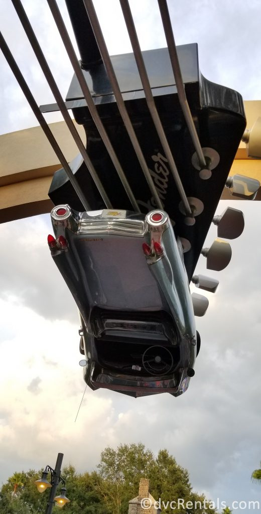 Aerosmith Rock N Roller Coaster Car