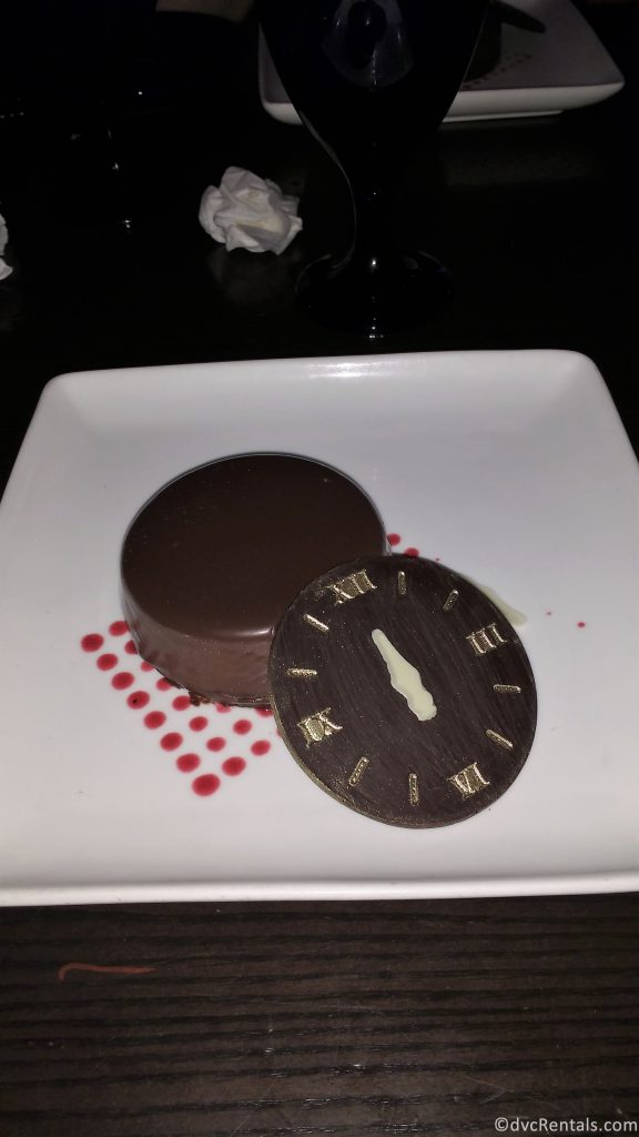 The Clock Strikes Twelve dessert from Cinderella's Royal Table
