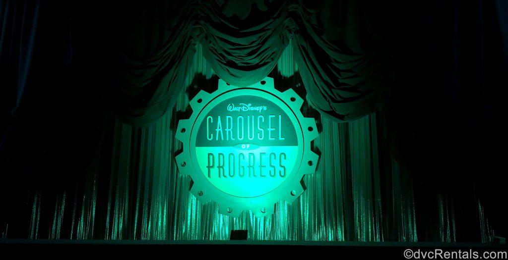 Carousel of Progress sign