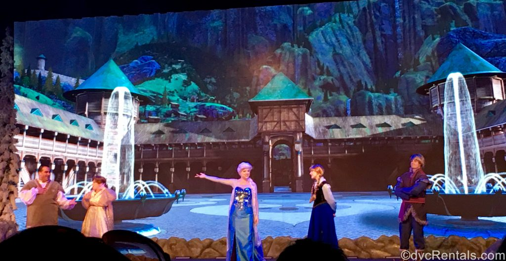 Frozen Ever After show