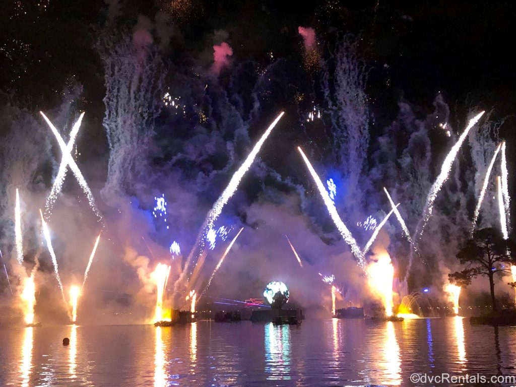 IllumiNations Fireworks show at Epcot