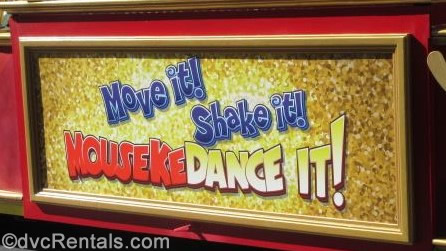Move It! Shake It! MousekeDance It! Sign