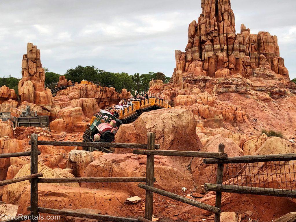 Big Thunder Mountain at Disney's Magic Kingdom