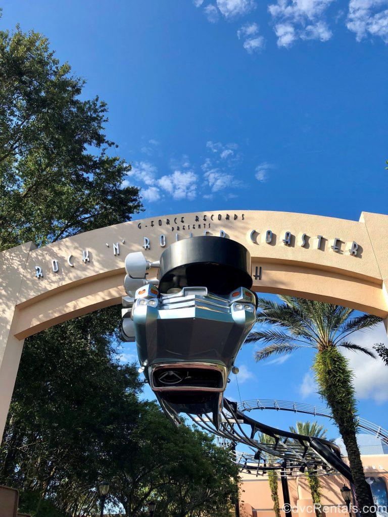 Rock 'n' Roller Coaster sign