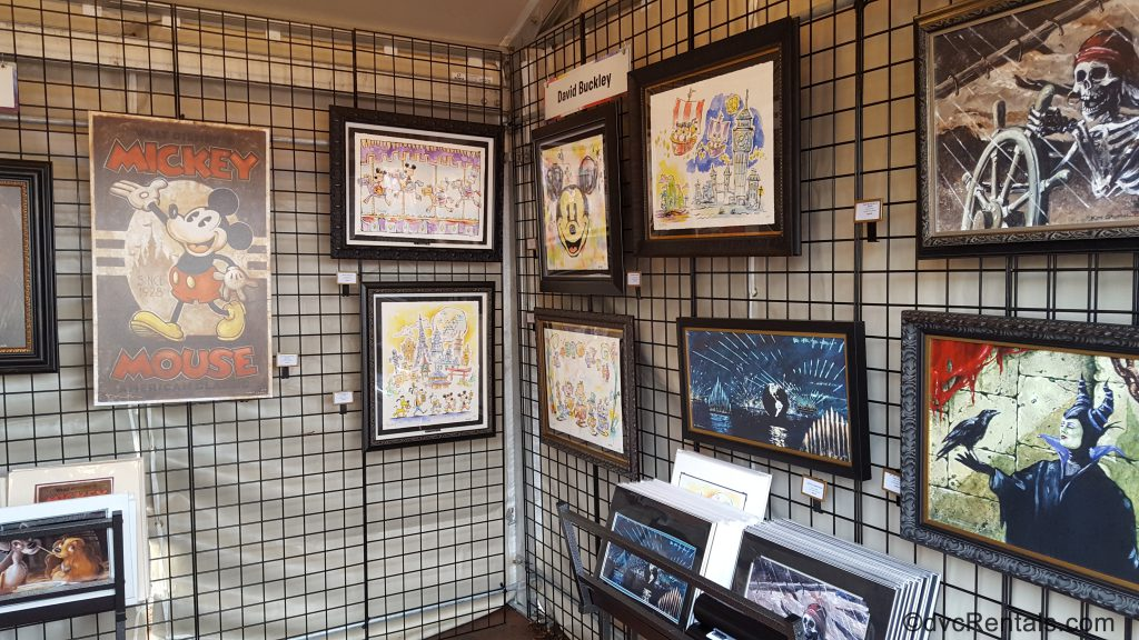 art available for purchase at the festival