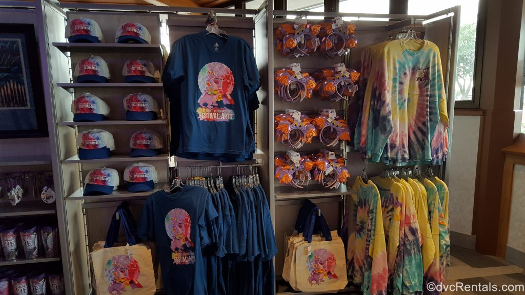 Epcot International Festival of the Arts merchandise