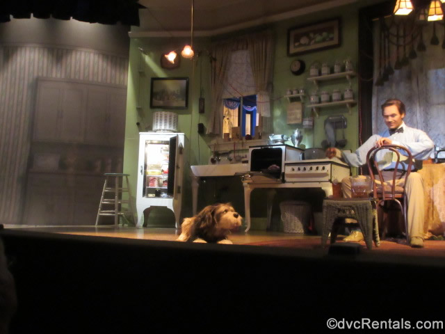 Summer scene from the Carousel of Progress