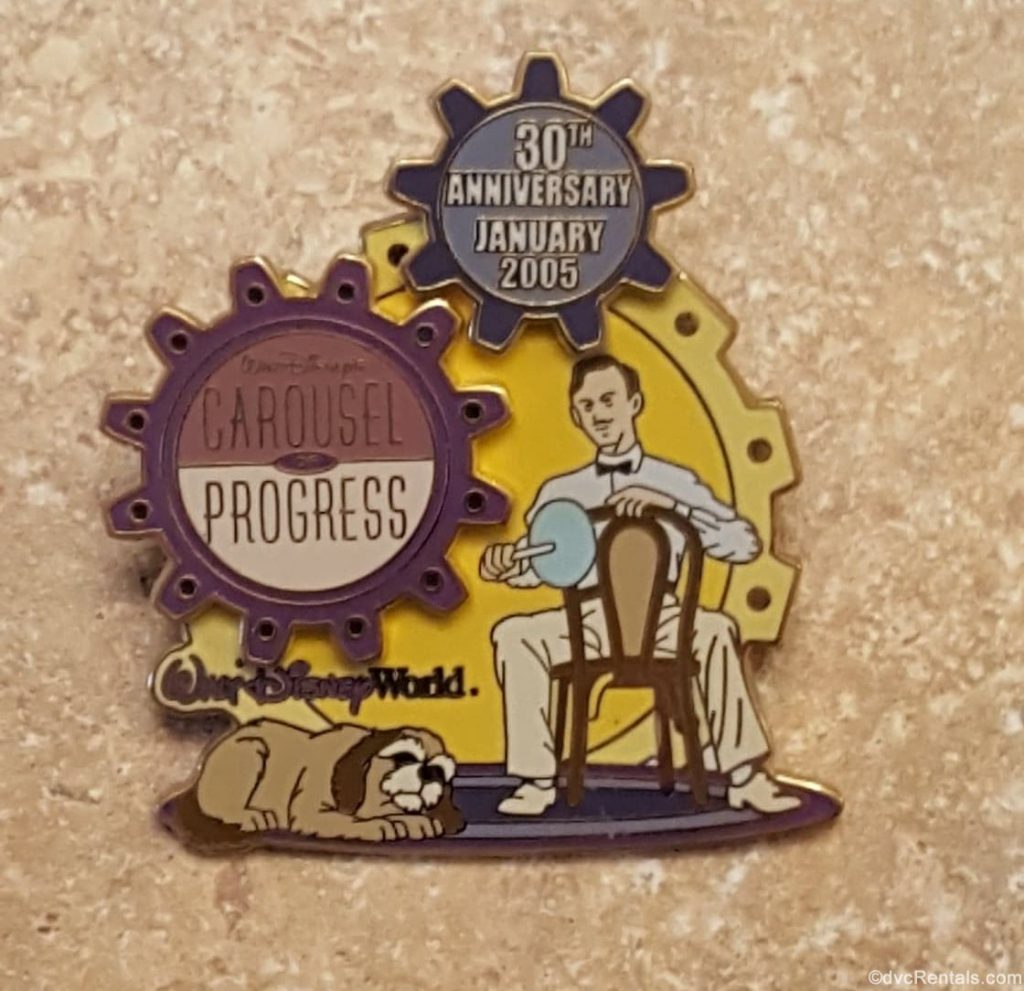 30th Anniversary pin for the Carousel of Progress