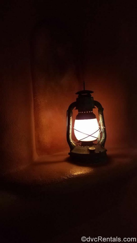 Lantern outside the entrance to Disney's Animal Kingdom – Kidani Village