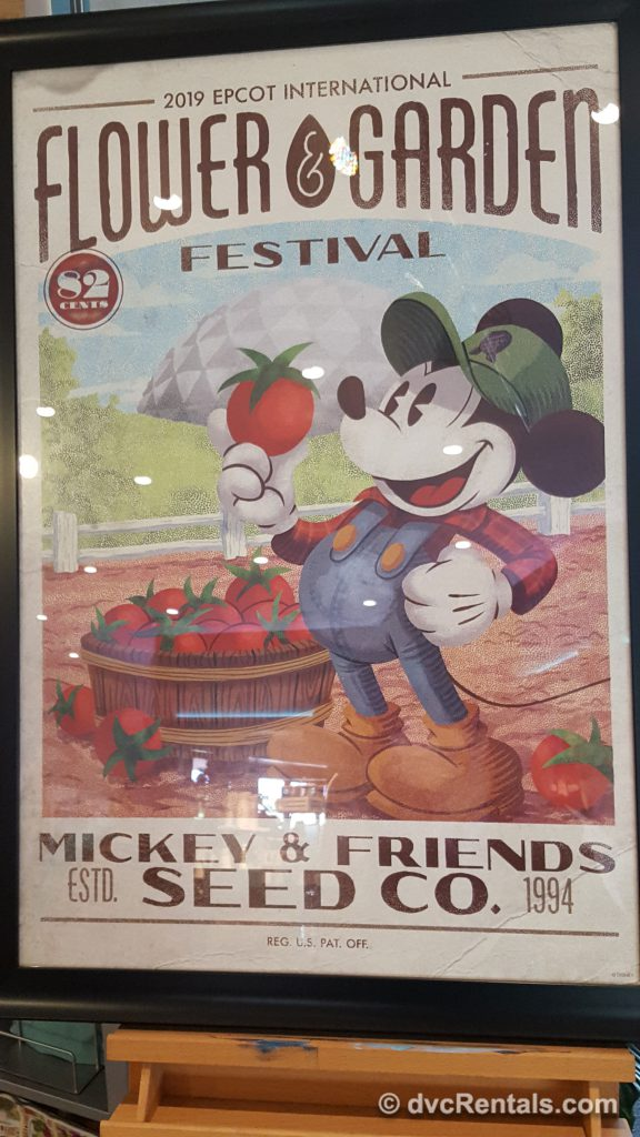 Epcot's Flower and Garden Festival 2019 sign