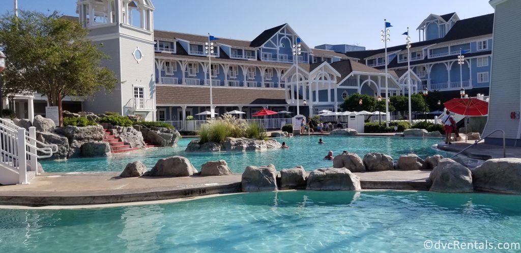 Stormalong Bay Pool at Disney's Beach Club Villas