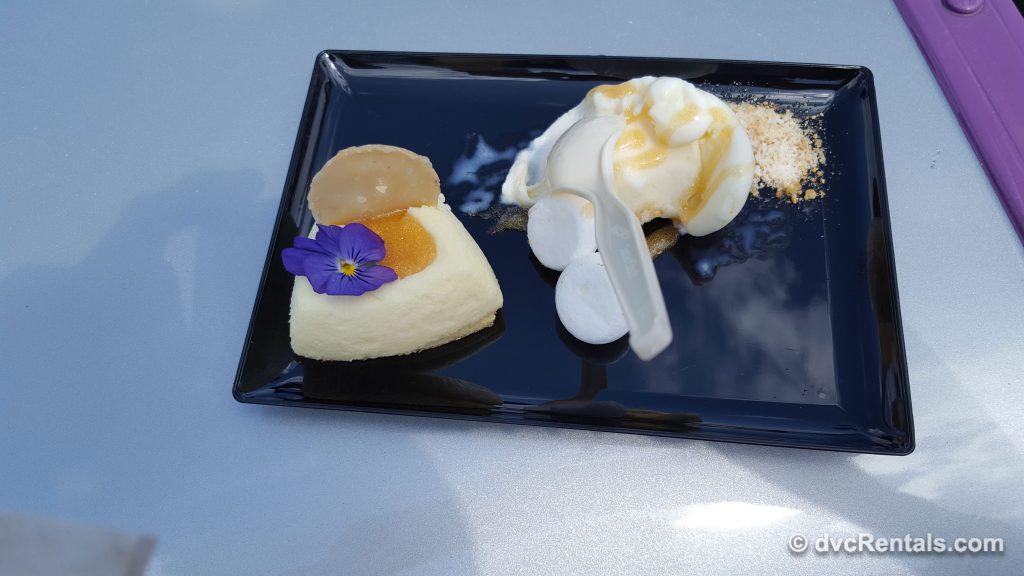 Wildflower Honey-mascarpone Cheesecake