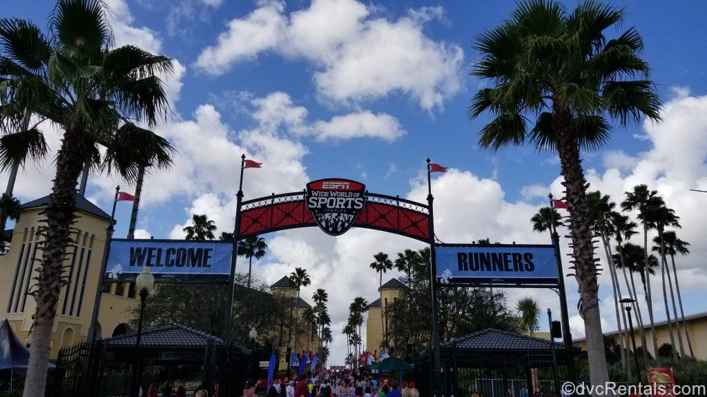 Run Disney Welcome Sign