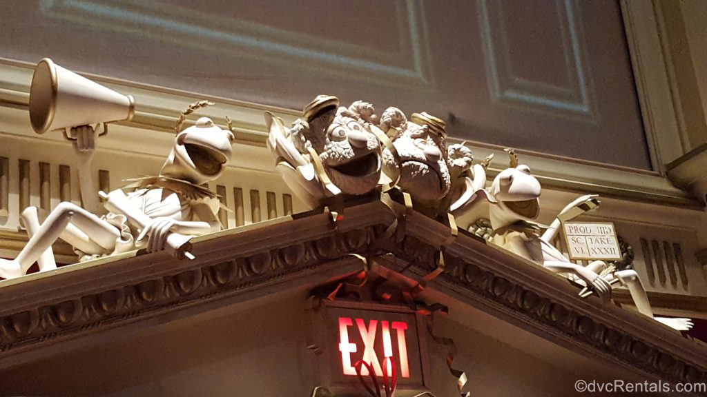 decor inside the Muppet Theater