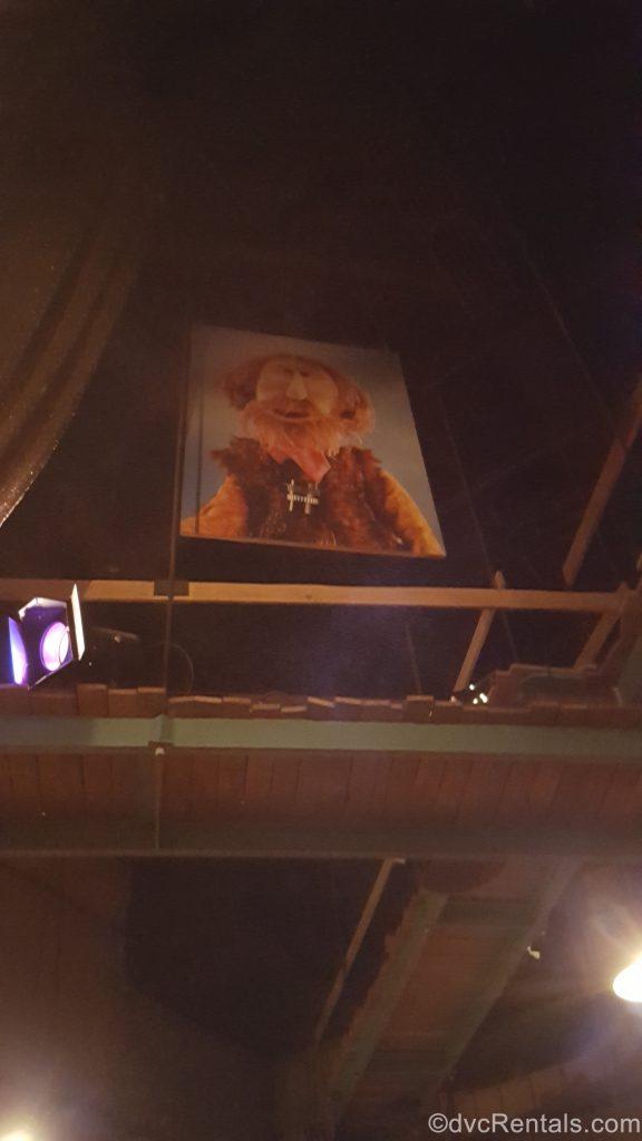 Jim Henson's likeness as a Muppet