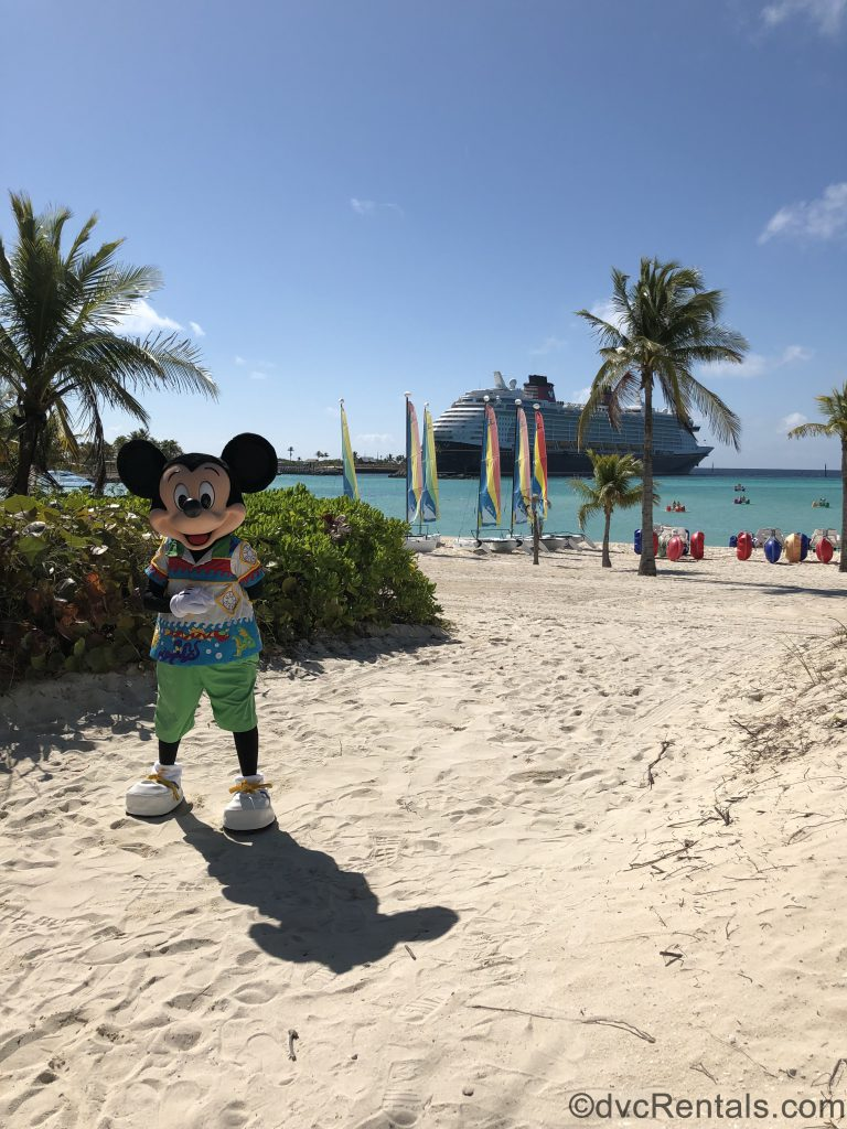 Mickey Mouse on Castaway Cay