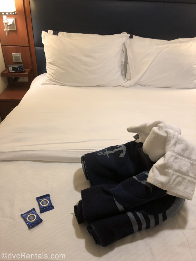 towel animals on the Disney Dream