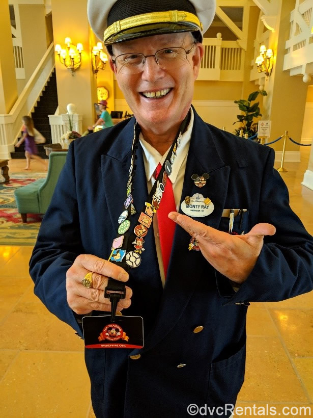 Captain Monty Ray from Disney's Beach Club Villas