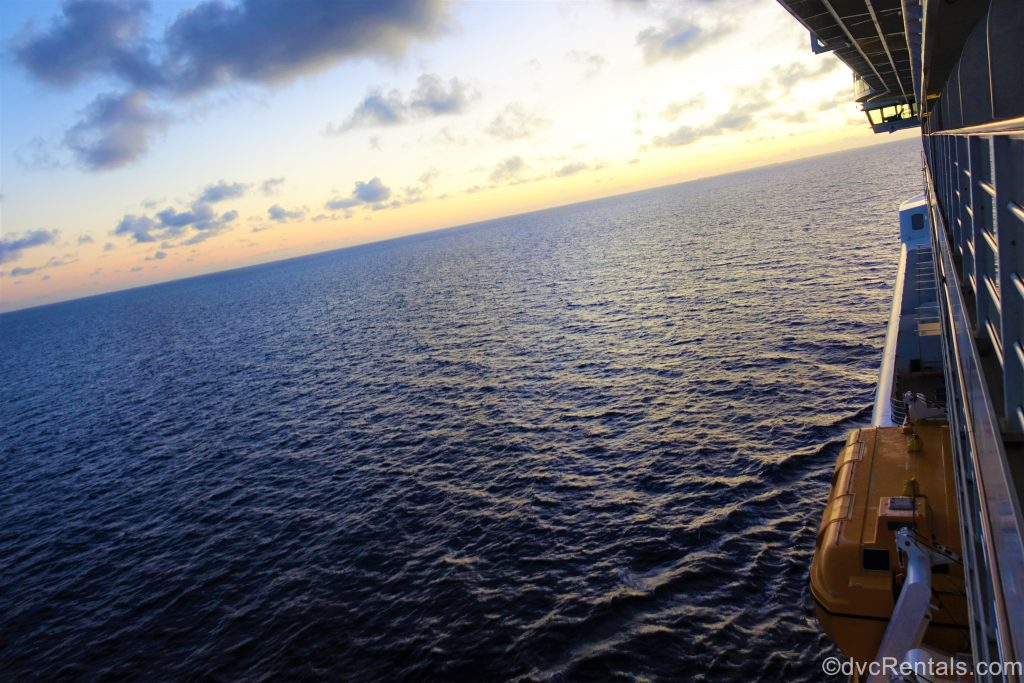 Sunrise on the Disney Dream