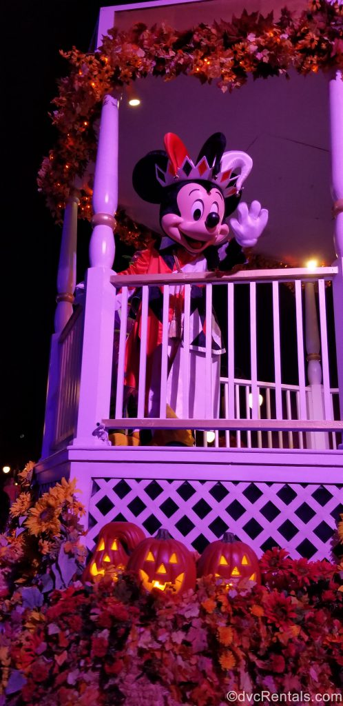 Mickey Mouse in the Boo To You Parade