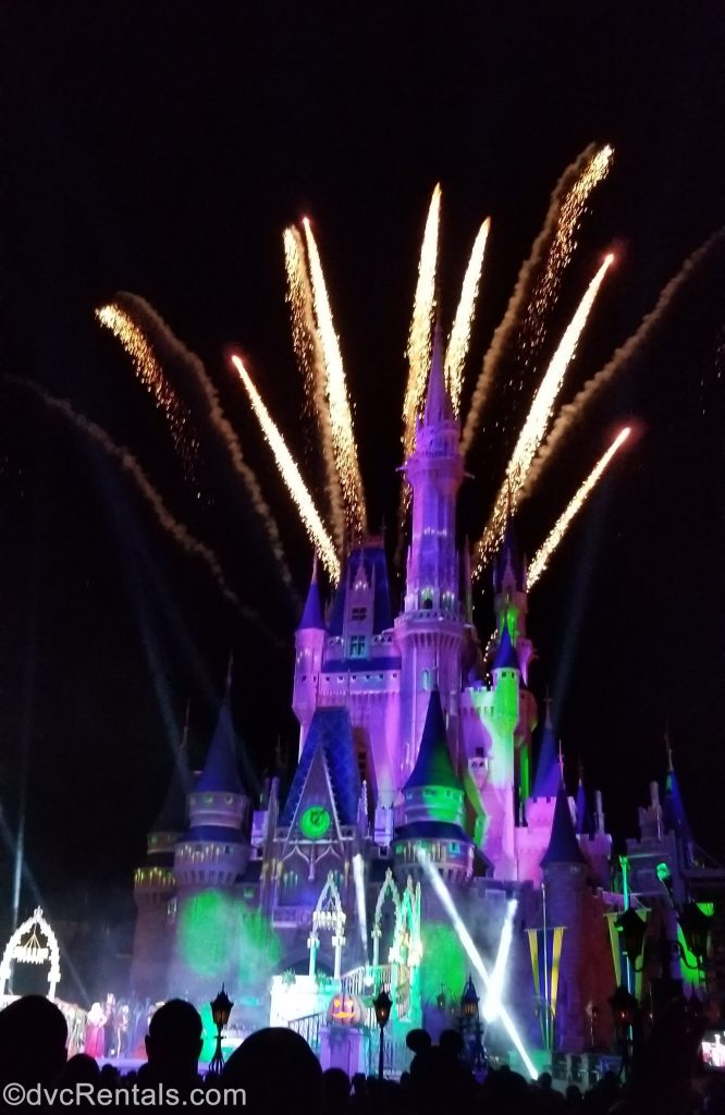 HalloWishes Fireworks at the Magic Kingdom