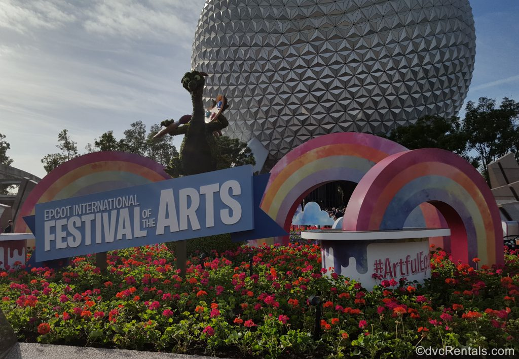 Festival of the Arts Signage at Epcot