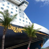 Exterior image of the Disney Dream