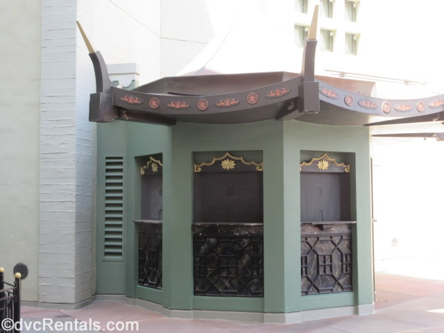 ticket booth outside the Chinese Theater at Disney's Hollywood Studios