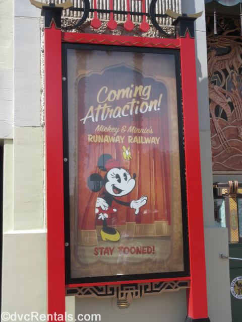 Poster for Mickey and Minnie's Runaway Railway