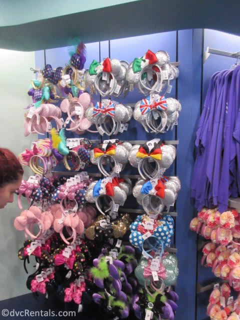 Mickey Ears from Gateway Gifts at Epcot
