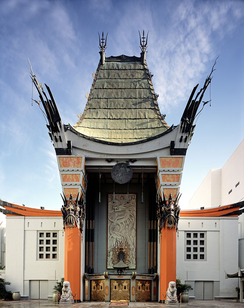exterior shot of The Chinese Theater in Los Angeles