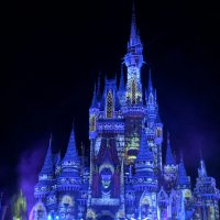 Cinderella Castle taken over by the Evil Queen