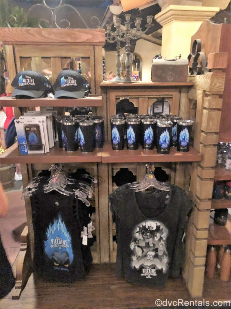 Disney Villains After Hours Merch