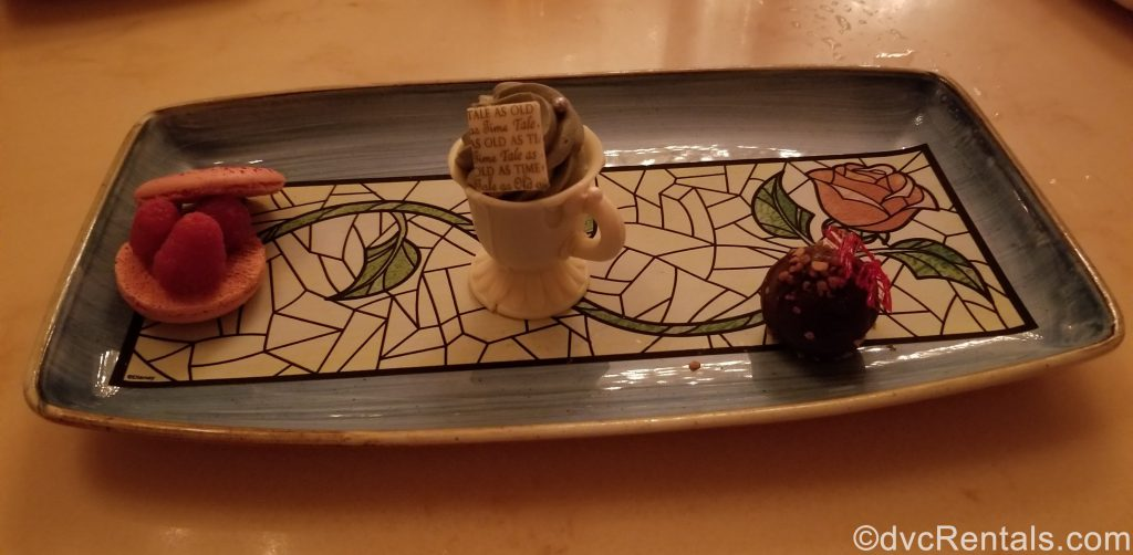 Dessert Trio from Be Our Guest