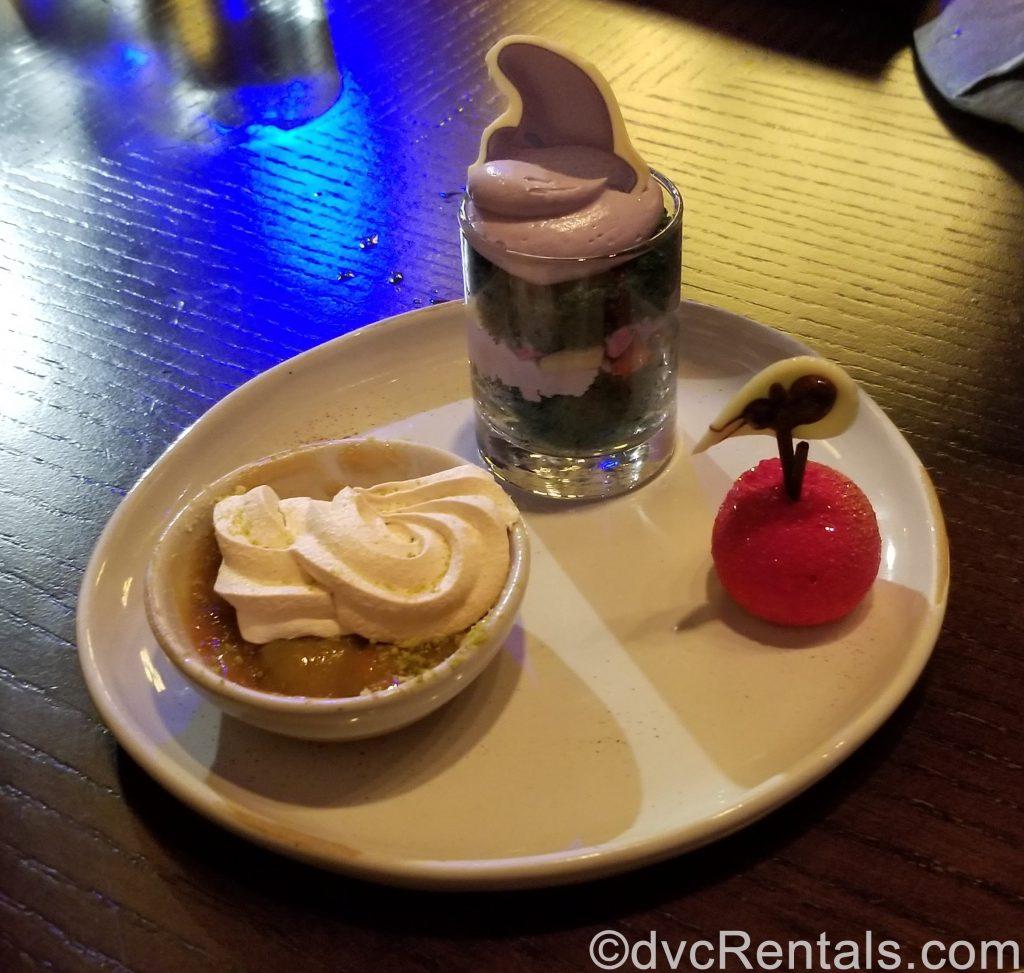 Dessert Trio from Artist Point