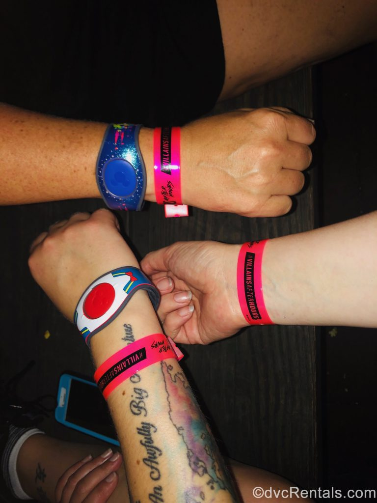 Villains After Hours Wristbands