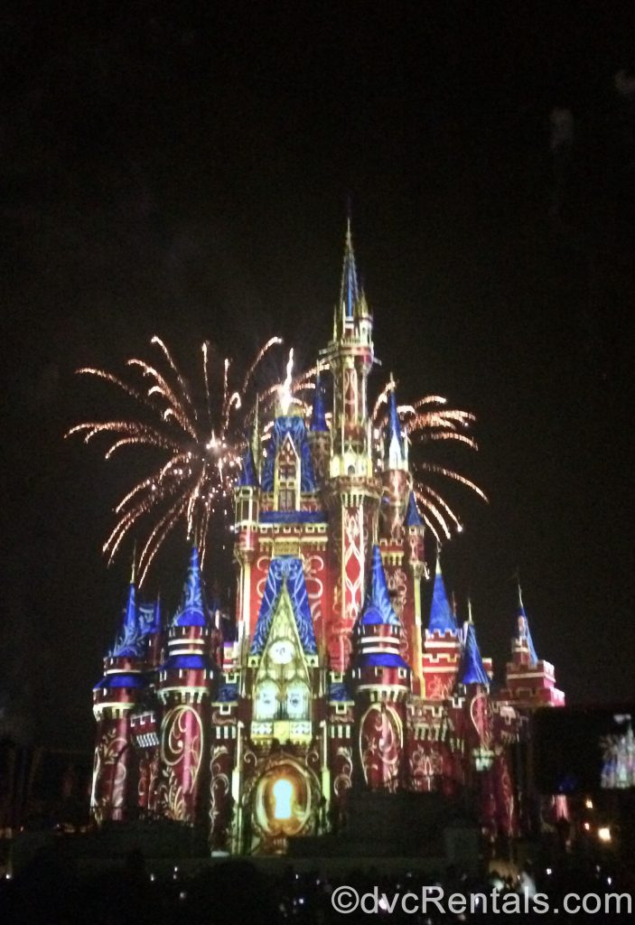 Happily Ever After Fireworks from the Magic Kingdom