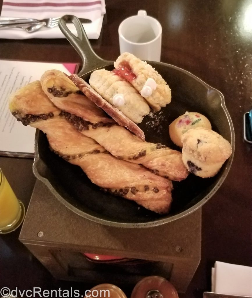 selection of baked goods from Trattoria al Forno