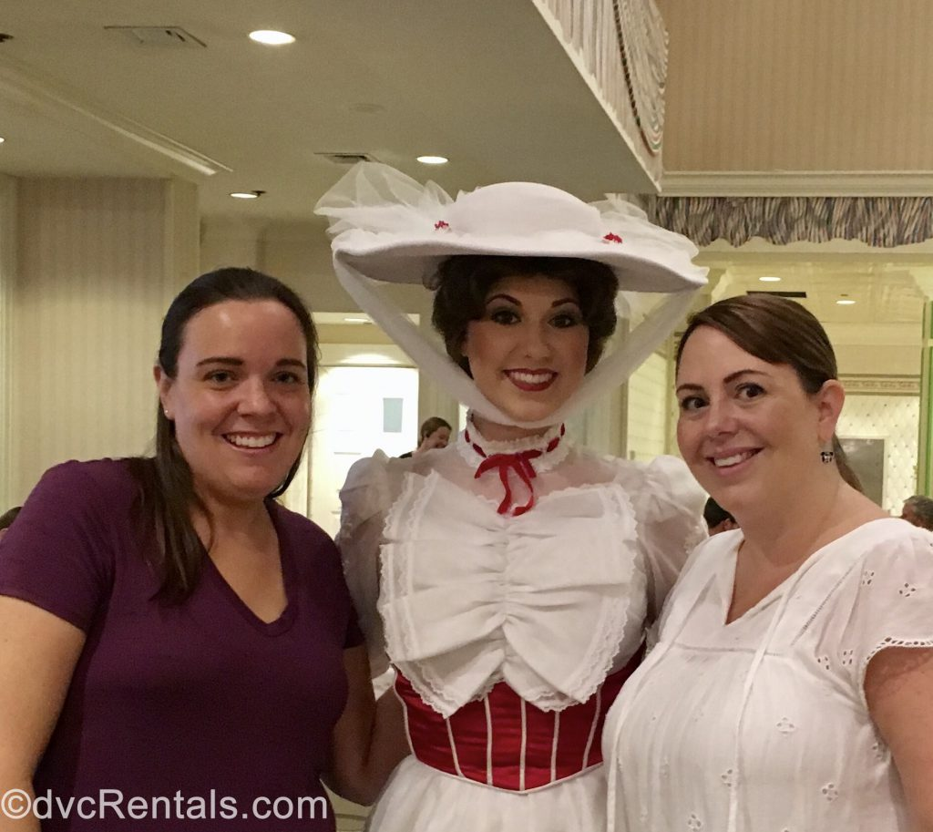 Team Members Jane and Stacy with Mary Poppins