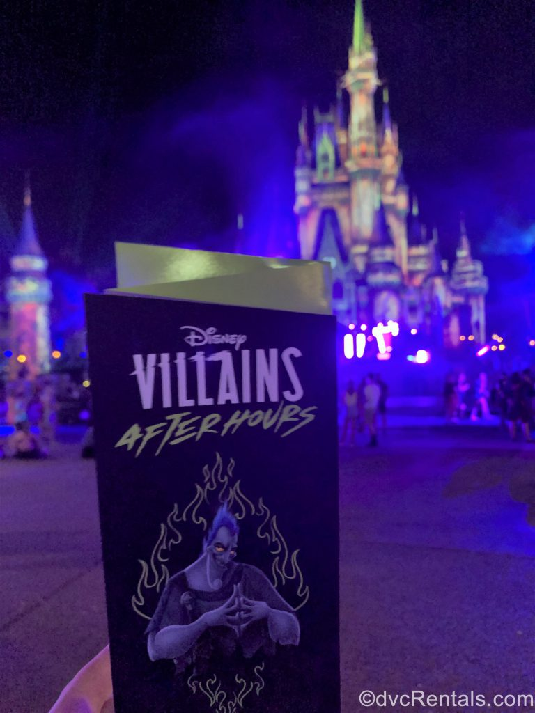 Villains After Hours Event Guide